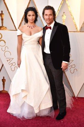 Matthew-MCconaughey-Camila-Alves-2018-Oscars